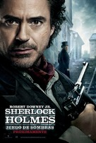 Sherlock Holmes: A Game of Shadows - Spanish Movie Poster (xs thumbnail)