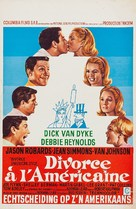 Divorce American Style - Belgian Movie Poster (xs thumbnail)