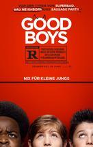 Good Boys - German Movie Poster (xs thumbnail)
