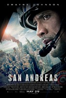 San Andreas - Theatrical movie poster (xs thumbnail)