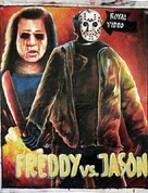 Freddy vs. Jason - Ghanian Movie Poster (xs thumbnail)