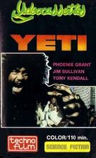 Yeti - il gigante del 20. secolo - VHS cover (xs thumbnail)