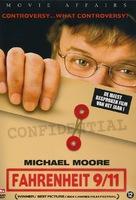 Fahrenheit 9/11 - Dutch DVD movie cover (xs thumbnail)