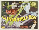 The Invisible Ray - British Movie Poster (xs thumbnail)