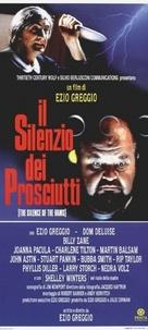 Silenzio dei prosciutti, Il - Italian Movie Poster (xs thumbnail)