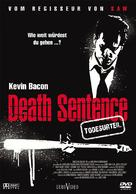 Death Sentence - German DVD cover (xs thumbnail)