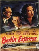 Berlin Express - French Movie Poster (xs thumbnail)
