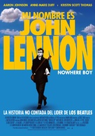 Nowhere Boy - Chilean Movie Poster (xs thumbnail)