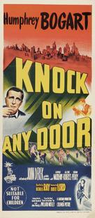 Knock on Any Door - Australian Movie Poster (xs thumbnail)