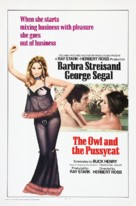 The Owl and the Pussycat - Movie Poster (xs thumbnail)