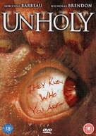 Unholy - British DVD cover (xs thumbnail)