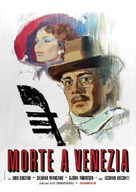 Morte a Venezia - Italian Movie Poster (xs thumbnail)