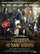 What We Do in the Shadows - French Movie Poster (xs thumbnail)