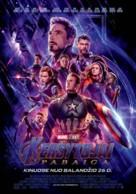 Avengers: Endgame - Lithuanian Movie Poster (xs thumbnail)