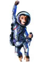 Space Chimps - Key art (xs thumbnail)