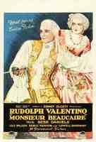 Monsieur Beaucaire - British Movie Poster (xs thumbnail)