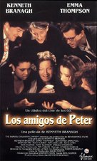 Peter's Friends - Spanish VHS cover (xs thumbnail)
