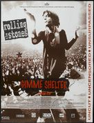 Gimme Shelter - French Movie Poster (xs thumbnail)