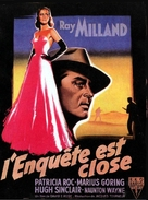 Circle of Danger - French Movie Poster (xs thumbnail)