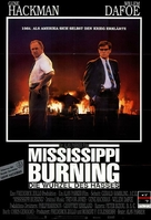 Mississippi Burning - German Movie Poster (xs thumbnail)