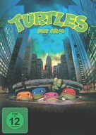 Teenage Mutant Ninja Turtles - German DVD movie cover (xs thumbnail)