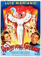 Rendez-vous à Grenade - Belgian Movie Poster (xs thumbnail)