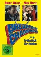 Breakfast Of Champions - German DVD cover (xs thumbnail)