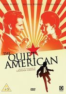 The Quiet American - British DVD cover (xs thumbnail)