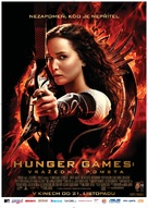 The Hunger Games: Catching Fire - Czech Movie Poster (xs thumbnail)
