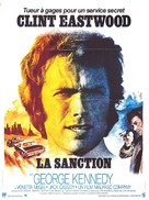 The Eiger Sanction - French Movie Poster (xs thumbnail)