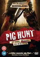 Pig Hunt - British Movie Cover (xs thumbnail)