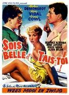 Sois belle et tais-toi - Belgian Movie Poster (xs thumbnail)