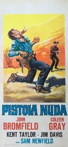 Frontier Gambler - Italian Movie Poster (xs thumbnail)