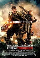 Edge of Tomorrow - Finnish Movie Poster (xs thumbnail)