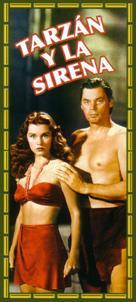 Tarzan and the Mermaids - Spanish Movie Cover (xs thumbnail)