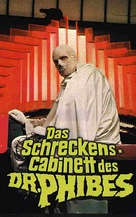 The Abominable Dr. Phibes - German VHS movie cover (xs thumbnail)