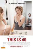 This Is 40 - Australian Movie Poster (xs thumbnail)