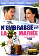 You May Not Kiss the Bride - French DVD movie cover (xs thumbnail)