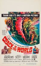 Crack in the World - Movie Poster (xs thumbnail)