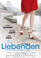 Les bien-aimés - German Movie Poster (xs thumbnail)