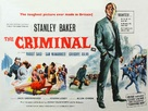 The Criminal - British Movie Poster (xs thumbnail)