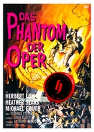 The Phantom of the Opera - German DVD cover (xs thumbnail)