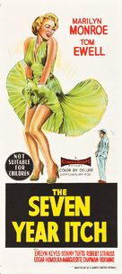 The Seven Year Itch - Australian Movie Poster (xs thumbnail)