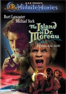 The Island of Dr. Moreau - DVD movie cover (xs thumbnail)