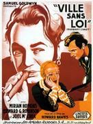 Barbary Coast - French Movie Poster (xs thumbnail)