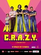 C.R.A.Z.Y. - Polish poster (xs thumbnail)