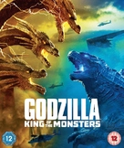 Godzilla: King of the Monsters - British Blu-Ray movie cover (xs thumbnail)