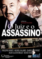 Juge et l'assassin, Le - Brazilian DVD cover (xs thumbnail)