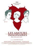Les amours imaginaires - Canadian Movie Poster (xs thumbnail)