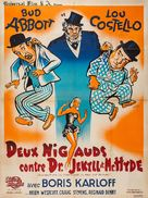 Abbott and Costello Meet Dr. Jekyll and Mr. Hyde - French Movie Poster (xs thumbnail)